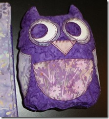 bea lee owls purple gift