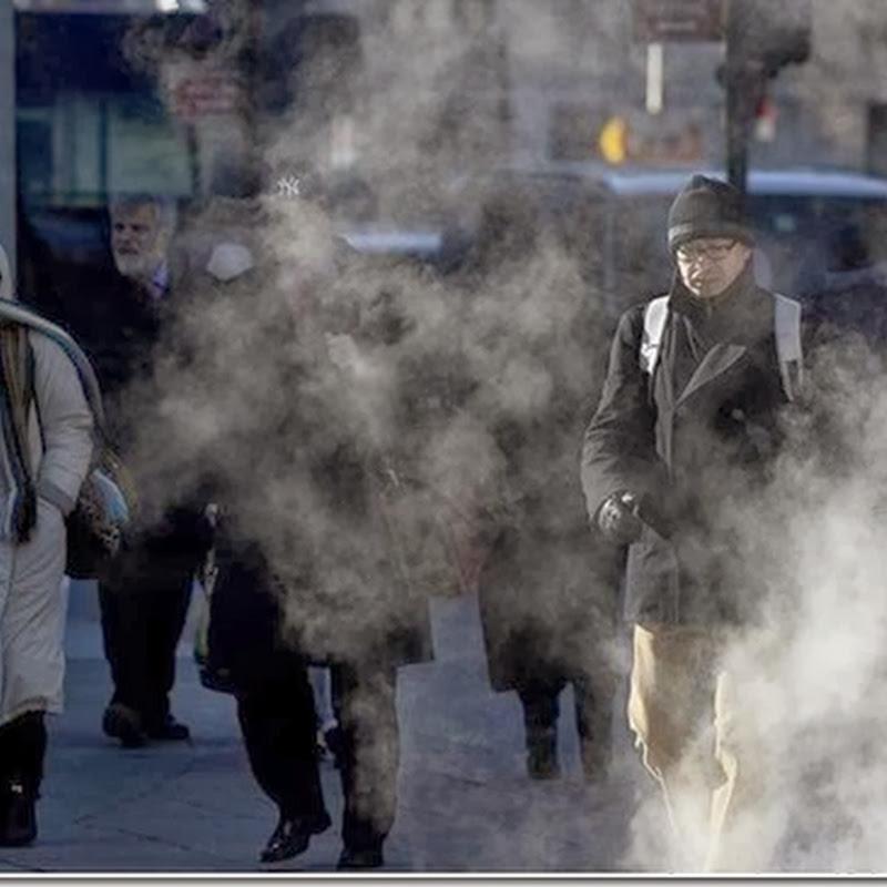 Nueva York sufre el frío más intenso desde 1896