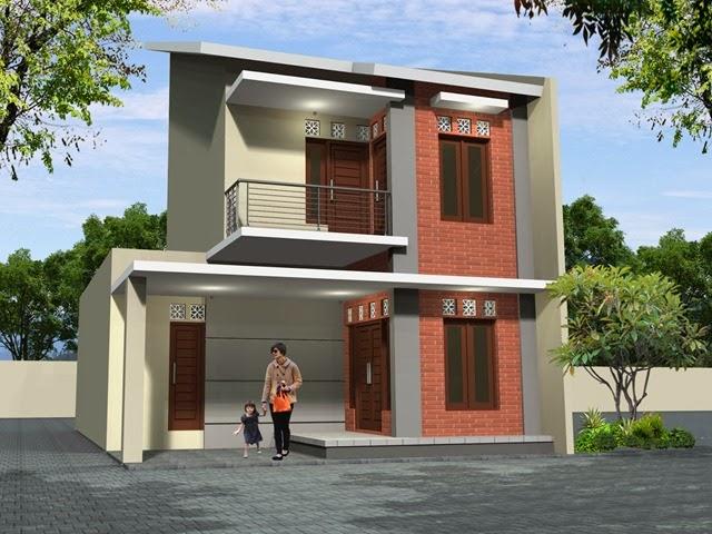 desain rumah minimalis 2 lantai type 36
