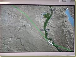Nile Plane Map