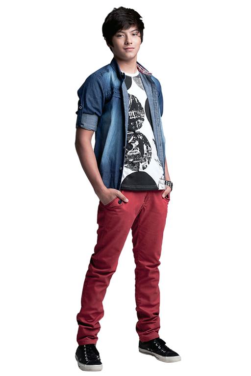 Daniel Padilla for BUM My ATeetude