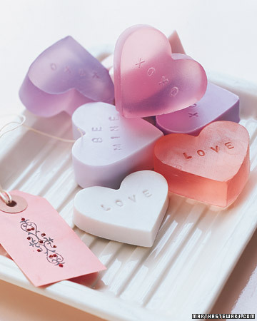 Having a valentine's party? These are a sweet touch for your bathroom.