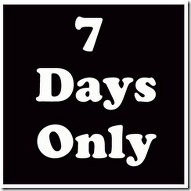 7 hari sahaja