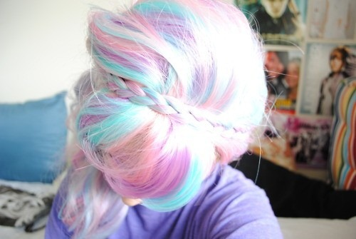 pastel hair