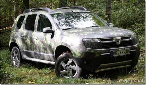 Dacia Duster speciale jagersuitvoering 01