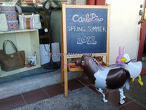 Carlo Rino Spring Summer 2012 tote bag sling handbag