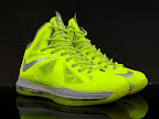 nike lebron 10 gr atomic volt dunkman 9 01 Nike, This is How We Want Our Volts! With Diamond Cut Swoosh.