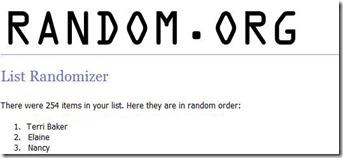 grab bag newsletter winner