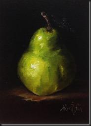 Green Pear 7x5