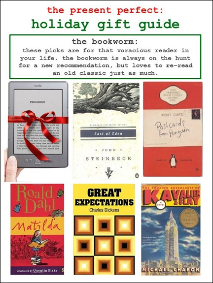 2011.12.07 - Holiday Gift Guide - The Bookworm