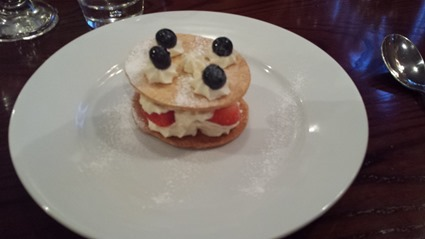 Yummy Dessert at The Wheatsheaf, Titchmarsh