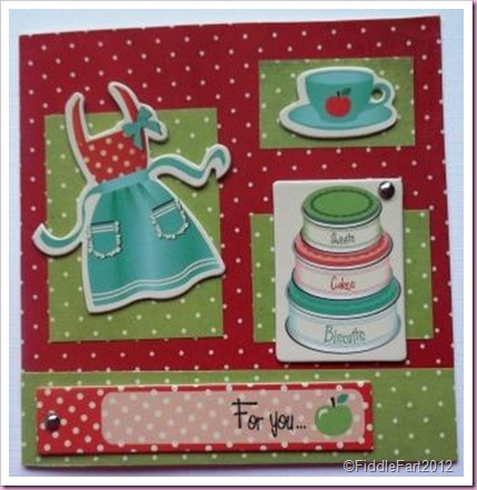J Ellory retro Kitchen Card