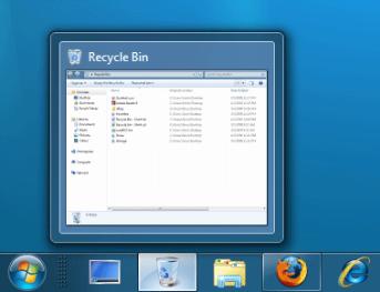 Pin Recycle Bin to Taskbar