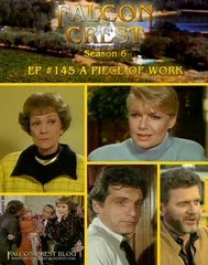 Falcon Crest_#145_A Piece Of Work