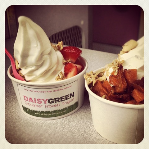 #165 - Daisy Green's fat-free frozen yoghurt