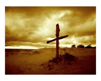 an-old-wooden-cross-photographic-print-c12040086