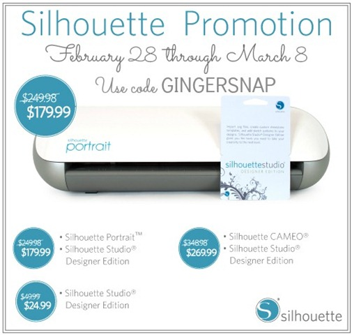 #Silhouette Promotion