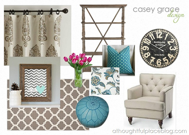 A Thoughtful Place Style Board