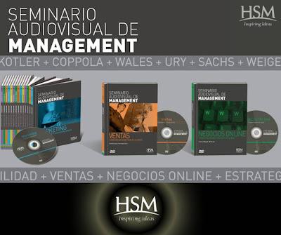 SEMINARIO AUDIOVISUAL DE MANAGEMENT HSM [ Curso en Video DVD ] – Curso completo de negocios, emprendimientos y gestión empresarial