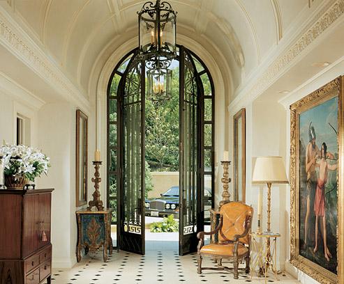 Foyers foyer fabulosity part i and a stylish blogger award! - the
