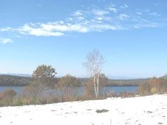 11.2011 Maine Otisfield snow lake mts3