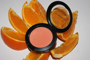 Mac Modern Mandarin Blush Swatch Swatches Review 001