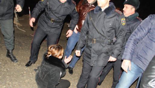 Azerbaijan Baku eviction