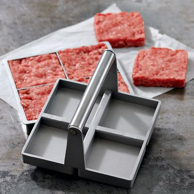 You'll make nice, uniform burgers with this set from Williams-Sonoma. (williams-sonoma.com)