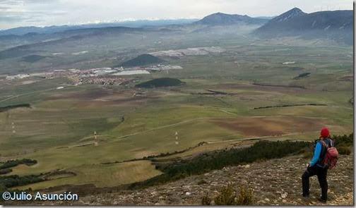 Panorámica desde la ladera de Bordatxar