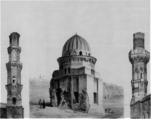Minarets ofTurab al-lmam mosque, 15th century, and Qalmi mosque, 16th century. This comparative examination of the minaret of Turab al-lmam mosque and the minaret of the Qalmi mosque reveals that both were based on an octagonal plan and both had similar muqamas designs.