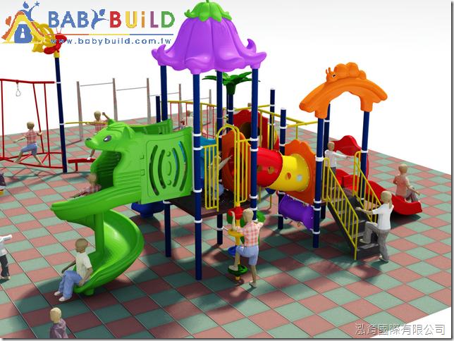BabyBuild 多功能體適能遊戲設施規劃