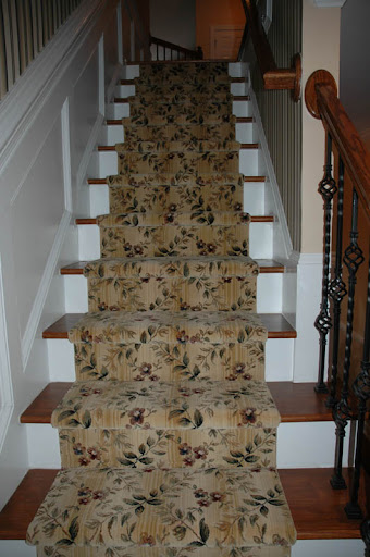 Stair Runner Carpet Casual Cottage