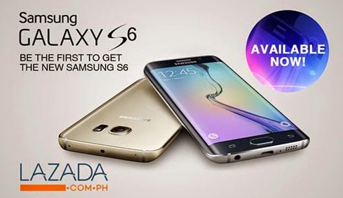Samsung Galaxy S6 @ Lazada!