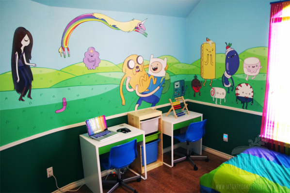 Adventure Time Bedroom from Mighty Oaks, Little Acorns 3