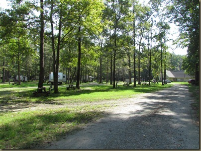 The Oaks at South Point, Yemessee SC  Thousand trails park