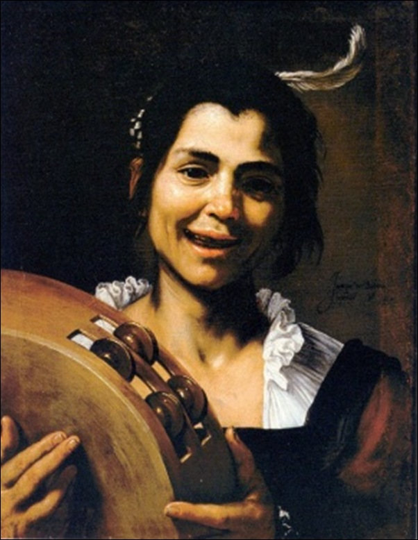 Ribera, La jeune fille au tambourin