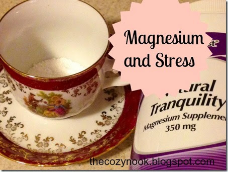 Magnesium and Stress - The Cozy Nook