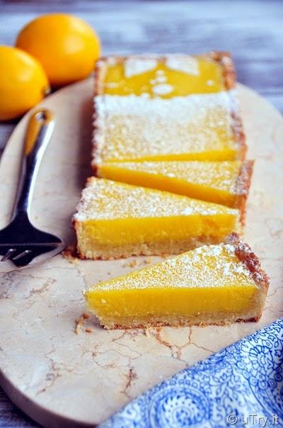 Meyer Lemon Tart with Almond Crust  http://uTry.it