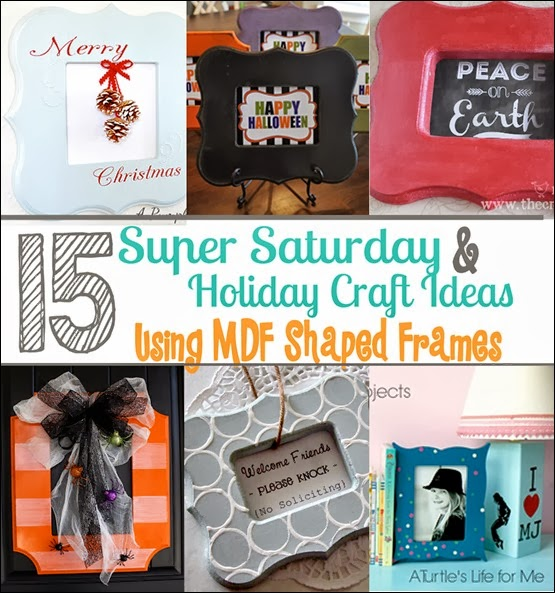 15 Super Saturday Holiday Craft Ideas