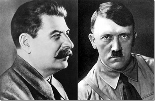 an introduction to the comparison of hitler and stalin
