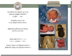 Baptism Invite Sample - Page 002