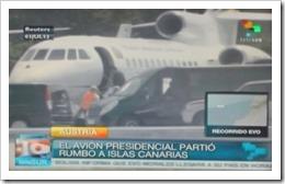 Avião de Evo Morales sequestrado em Viena. Jul.2013