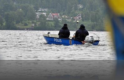 sjöpolis på Öresjön