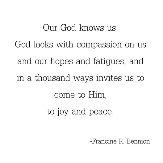 God knows us -- Bennion
