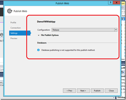 VM WebApp publish 4