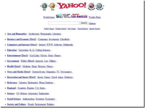 Yahoo diciembre 1996