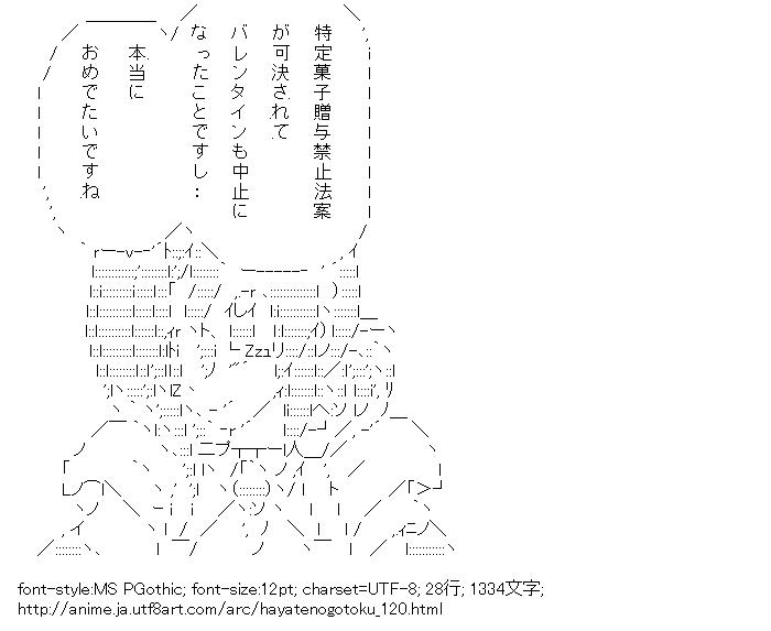 ハヤテのごとく!,マリア,バレンタインデー