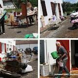 A Ossès comme dans tout l'intérieur du Pays Basque l'heure est au nettoyage