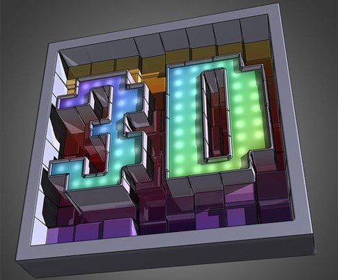 Crear textos de bloques en 3D