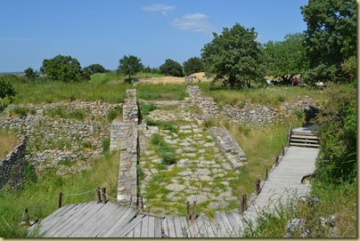 Troy - the ramp leading to Troy II